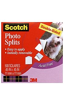 Photo Mounting Squares 1 2 in. x 1 2 in. pack of 500
