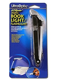 EZ-Reader Mini Book Light/Flashlight