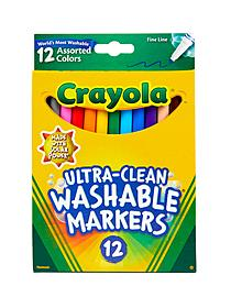 Washable Markers -- Assorted Colors