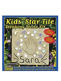 Kids' Star Tile Stepping Stone Kit Star Tile Stepping Stone Kit