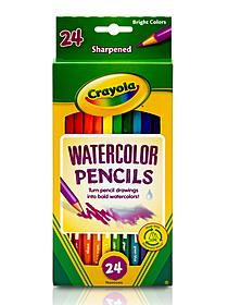 Watercolor Colored  Pencils