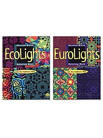 Stained Glass Lights Coloring Books