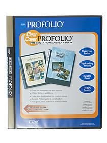 Clear Cover Profolio Presentation Books
