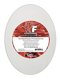 Oval Stretched Canvas 16 in. x 20 in. carton of