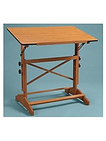 Pavillon Pedestal Drawing Table