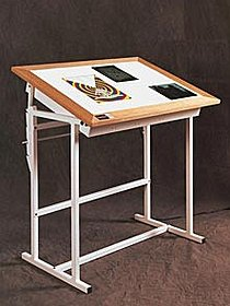 Alva Trace Light Table 42 in. x 54 in. x 37