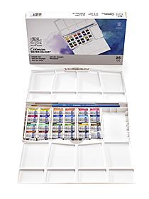 Cotman Water Colour Painting Plus Set - Half Pans