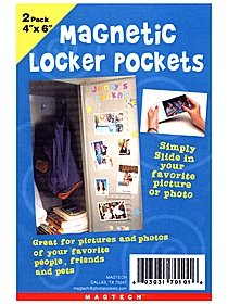 Magnetic Locker Pockets
