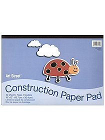 Construction Paper pad of 50