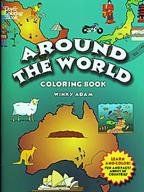 Around the World Coloring Book Around the World Coloring Book