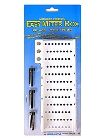 Easy Miter Box Easy Miter Box Deluxe with saw
