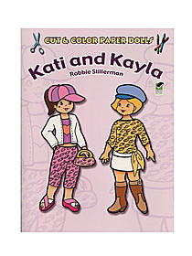 Cut & Color Paper Dolls: Kati and Kayla