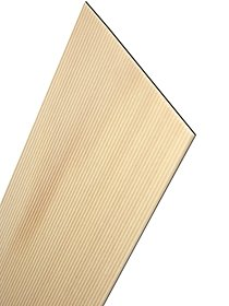 Basswood Corrugated Siding