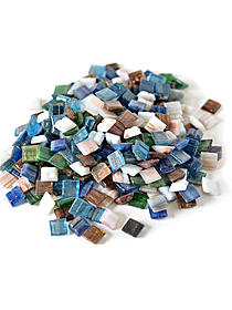 Vitreous Glass Mosaic Tiles -- Metallic Colors