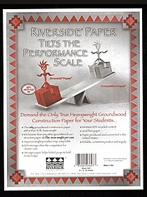 Black Heavyweight Groundwood Construction Paper