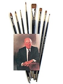 John Sanden White Bristle Brush Sets