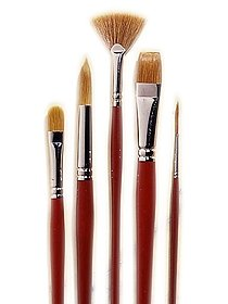 Golden Natural Basic Brush Set