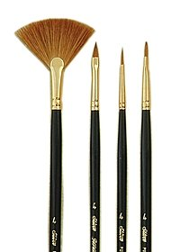 Renaissance Long Handled Brush Set