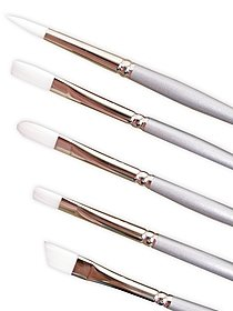 Silverwhite Long Handled Brush Set