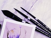 Black Velvet Watercolor Brush Set