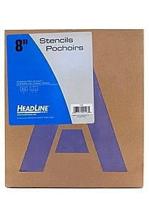 Stencil Kits Gothic numbers 8 in.
