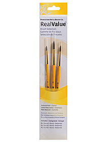 Real Value Series 9000 Yellow Handle Brush Sets