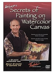Tom Lynch's Secrets of Painting on Watercolor Canvas DVD