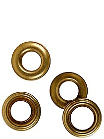 Self Piercing Brass Grommets