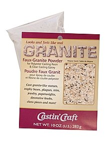 Faux Granite Powder