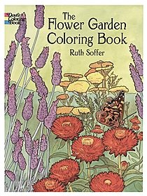 The Flower Garden Coloring Book