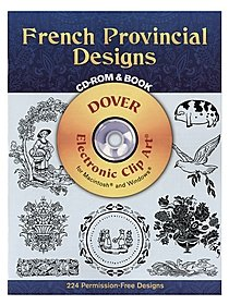 French Provincial Designs: CD-ROM and Book