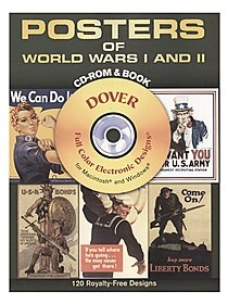 Posters of World Wars I and II: CD-ROM and Book