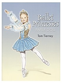 Ballet Princesses Paper Doll