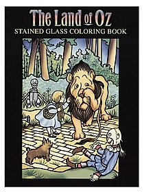 The Land of Oz Stained Glass Coloring Book