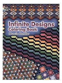 Infinite Designs Coloring Book Infinite Designs Coloring Book