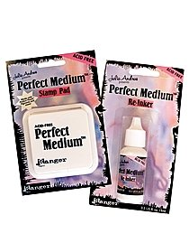 Perfect Medium Stamp Pad and Ink