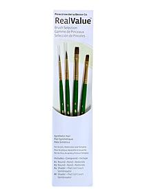 Real Value Series 9000 Green Handled Brush Sets