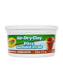 Air-Dry Clay 5 lb. bucket white