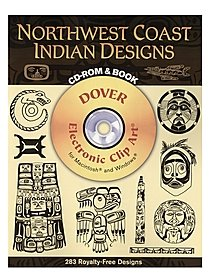Northwest Coast Indian Designs: CD-ROM and Book
