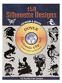 150 Silhouette Designs: CD-ROM and Book