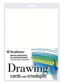 Drawing Cards with Envelopes pack of 10