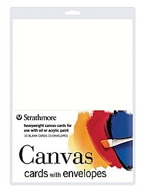 Canvas Cards with Envelopes