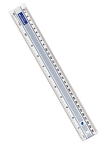 12 in. Shatterproof Ruler