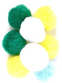 Pom Poms bold colors pack of 25