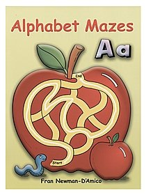 Alphabet Mazes Coloring Book