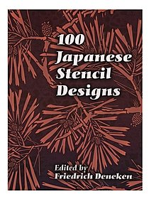 100 Japanese Stencil Designs 100 Japanese Stencil Designs