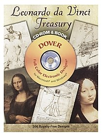 Leonardo da Vinci Treasury: CD-ROM and Book