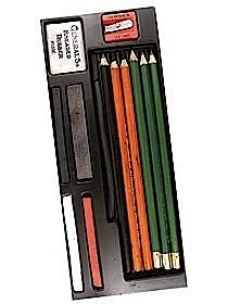 Drawing Class Essential Tools Kit – Mixed Drawing Media