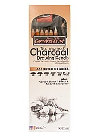 Charcoal Drawing Pencils Set