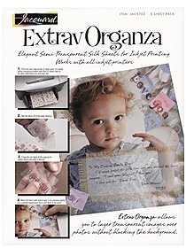 ExtravOrganza Fabric Sheets